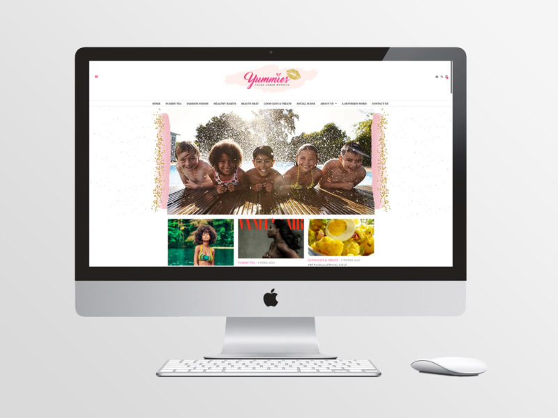 Yummies Website